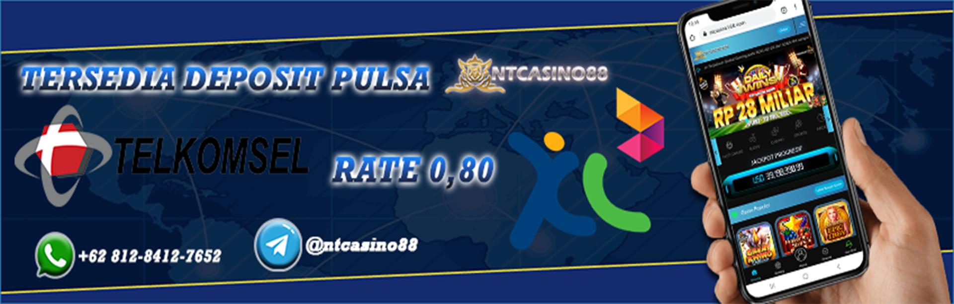 Deposit Pulsa Tsel & XL Rate 0,80